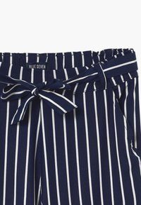Blue Seven - TEEN GIRL STRIPE - Kalhoty - dark blue - 2