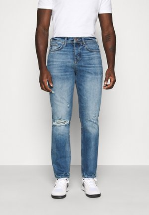 Džíny Straight Fit - mid blue