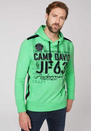 Sweatshirt - electric green