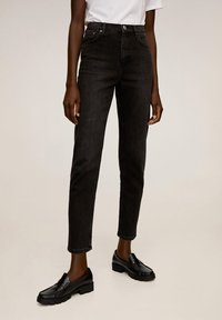 Mango - NEWMOM - Jeansy Slim Fit - black denim - 0