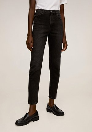 NEWMOM - Džíny Slim Fit - black denim