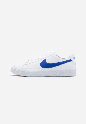 BLAZER - Baskets basses - white/astronomy blue