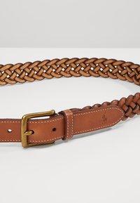 Polo Ralph Lauren - BRAID - Ceinture tressée - saddle - 4