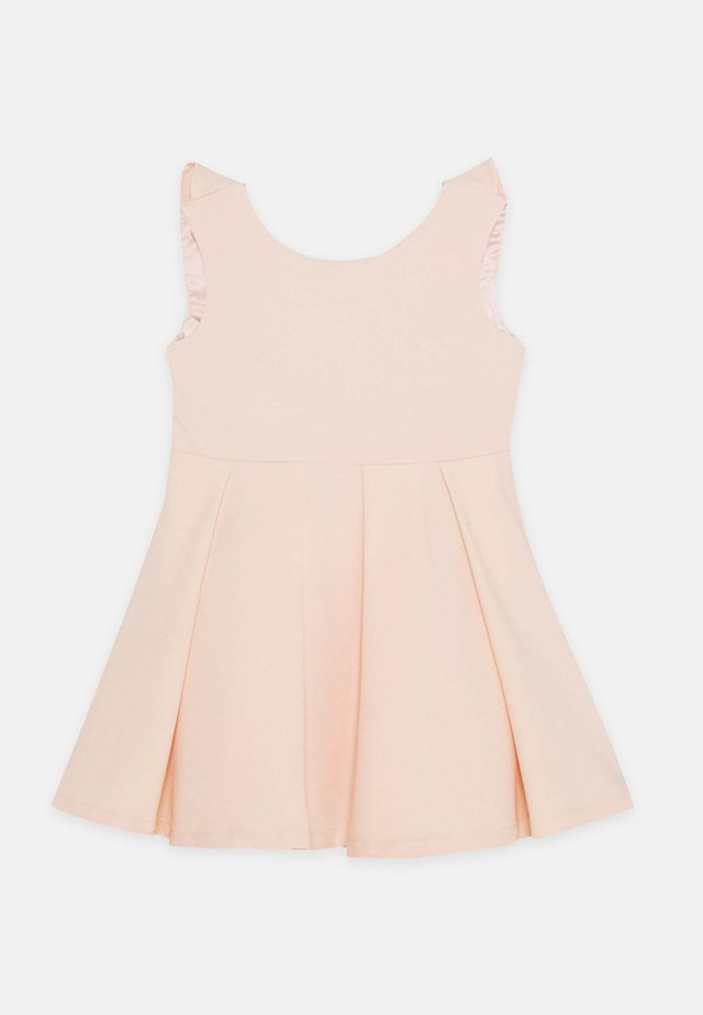 ARIA BOW DRESS - Robe de soirée - peach
