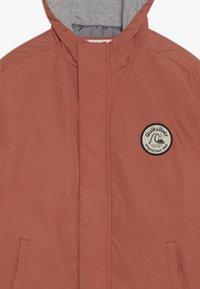 Quiksilver - CHOPPY IMPACT - Outdoor jacket - redwood - 3