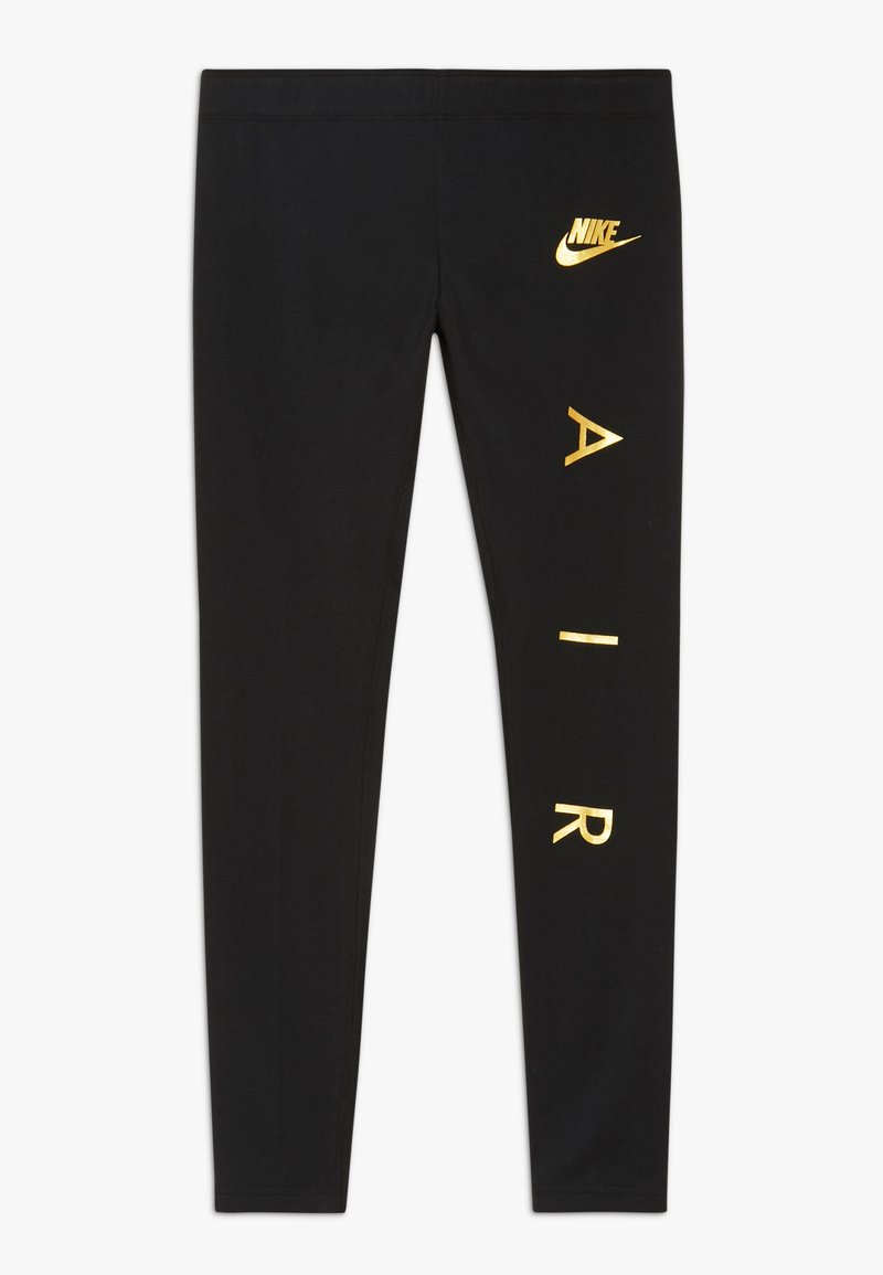 Nike Sportswear - FAVORITES AIR - Leggings - black/metallic gold
