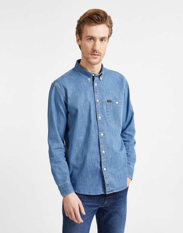 RIVETED  - Shirt - blue