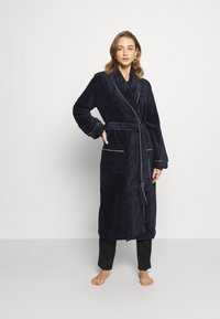 Calida - AFTER SHOWER - Dressing gown - dark lapis blue - 0