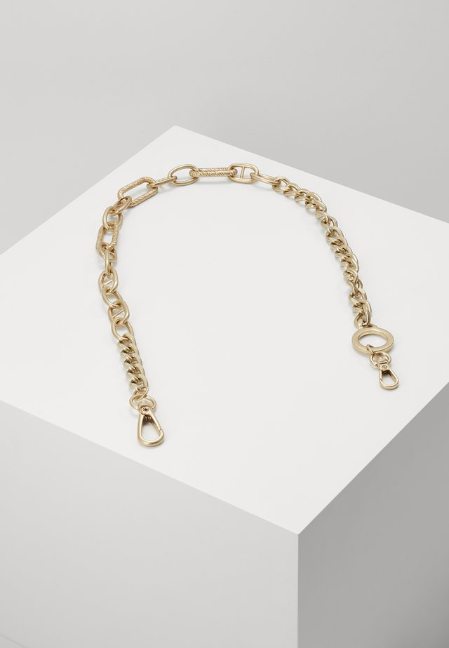 LINK IT UP WALLET CHAIN - Nøkkelring - gold-coloured