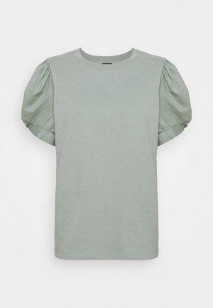 MIX PUFF - Basic T-shirt - sage