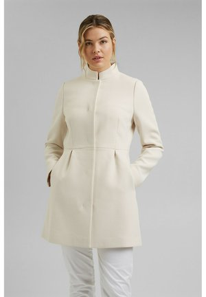 SHORT COAT - Manteau court - cream beige