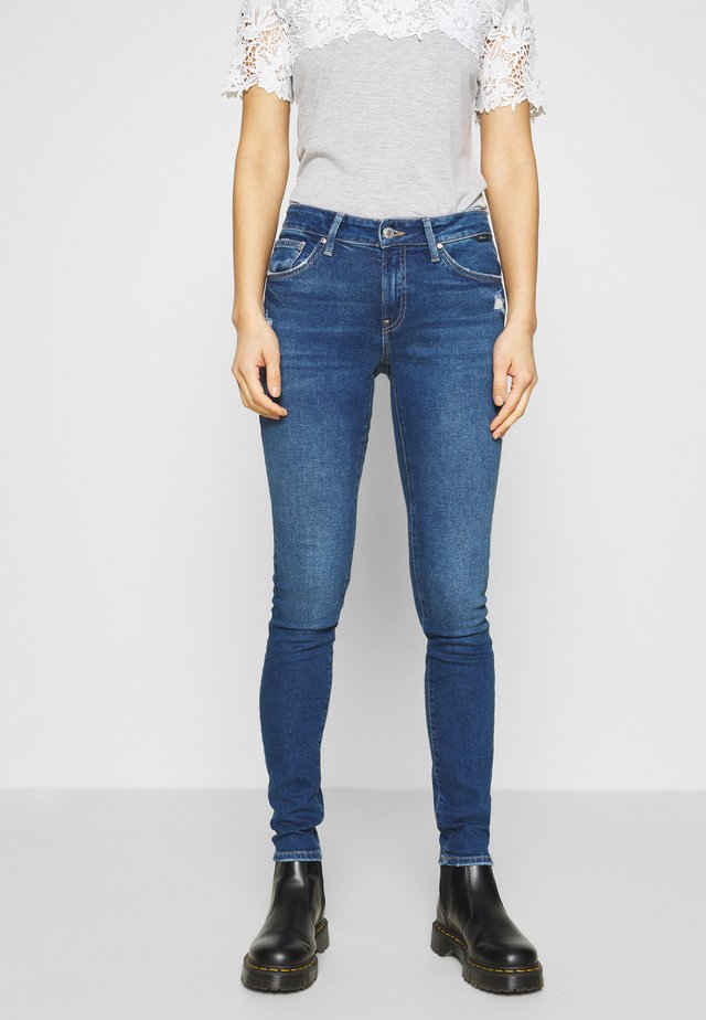 ADRIANA - Jeans Skinny Fit - dark blue denim