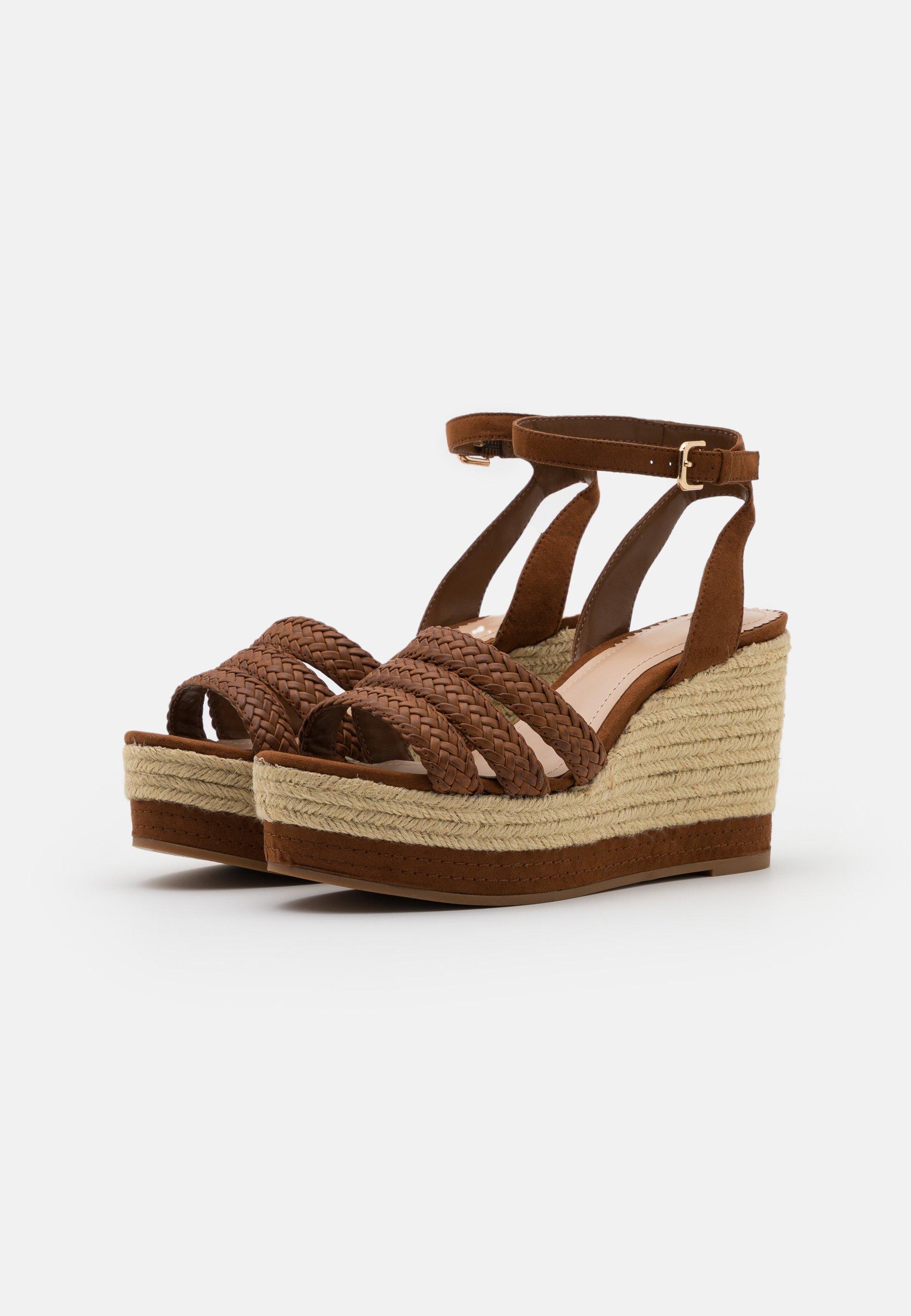 PARFOIS Sandales à talons hauts - camel - Sandales & Nu-pieds femme Designer