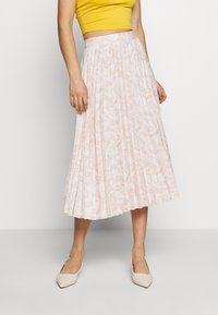 Glamorous - PRINTED MIDI SKIRT - A-Linien-Rock - nude - 0