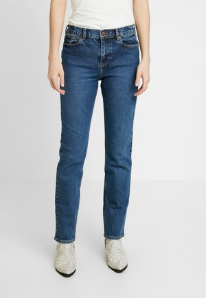 ADELINA - Straight leg jeans - salt & pepper
