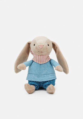 LITTLE RAMBLER BUNNY RATTLE UNISEX - Cuddly toy - beige