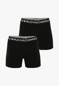 MUCHACHOMALO - 2 PACK - Boxerky - black - 0