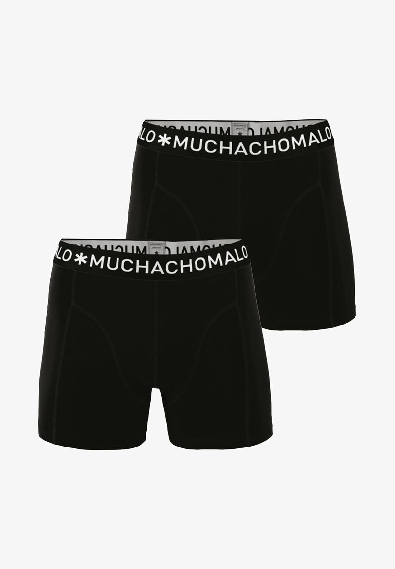 MUCHACHOMALO - 2 PACK - Boxerky - black