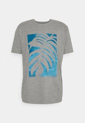 TEE - T-shirt med print - medium grey