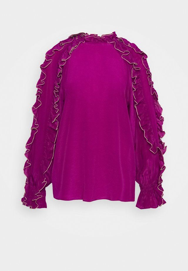 CHARLOTTE - Blouse - deep orchid