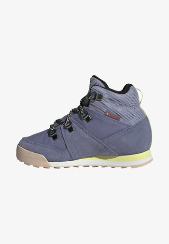 SNOWPITCH HIKING FOUNDATION COLD.RDY TRAXION SHOES MID - Hiking shoes - orbit violet/core black/halo blush