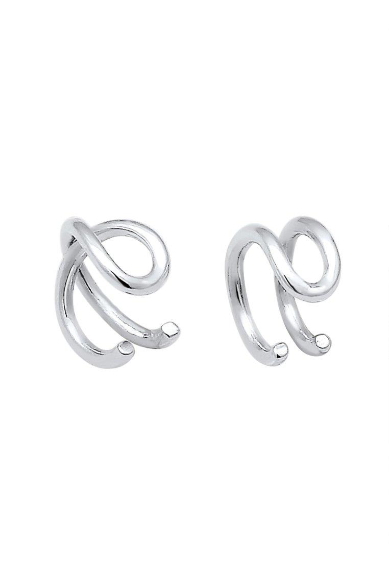 Elli Set Geo Basic Minimal Pasota - Ohrringe Silver/silber