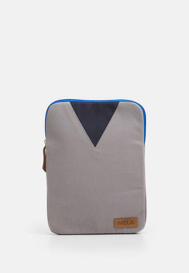 Laptop bag - grey/blue