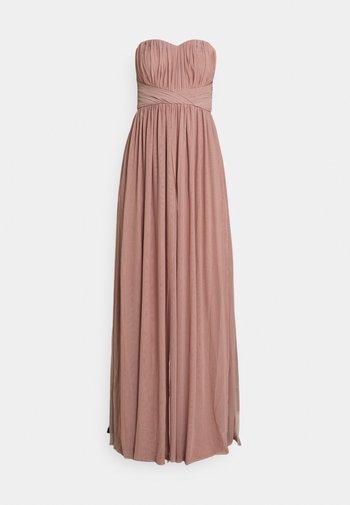CONVERTIBLE GOWN - Společenské šaty - dusty pink