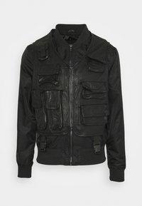 Be Edgy - BEROCKY 2-IN-1 - Waistcoat - black - 8