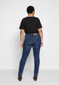 JUNAROSE - by VERO MODA - JRFIVE DELINA - Jeans Skinny Fit - medium blue denim - 2
