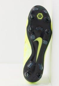 Nike Performance - PHANTOM ELITE SG-PRO AC - Screw-in stud football boots - volt/obsidian/barely volt - 4