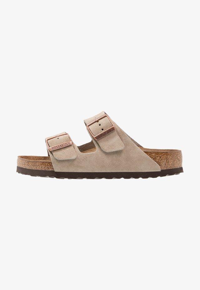 ARIZONA SOFT FOOTBED - Pantoffels - taupe