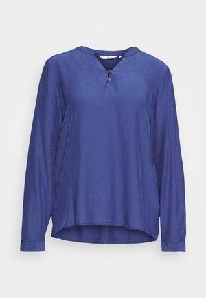 BLOUSE SOLID - Blusa - deep ultramarine blue