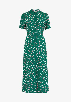 DANIELLE DAPPLED SPOT - Maxi dress - green