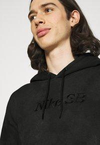 Nike SB - HOODIE UNISEX - Felpa - dark smoke grey - 3