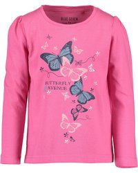 Blue Seven - COLOR YOUR LIFE - Long sleeved top - m02 - rosa aop + pink - 3