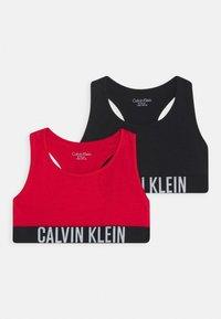 Calvin Klein Underwear - BRALETTE 2 PACK - Bustier - red - 0