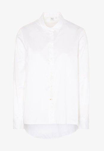 ETERNA LANGARM  1863 BY ETERNA - PREMIUM - Button-down blouse - weiß