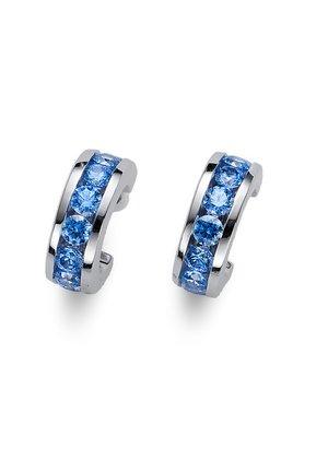 CIRCLE  - Earrings - blau