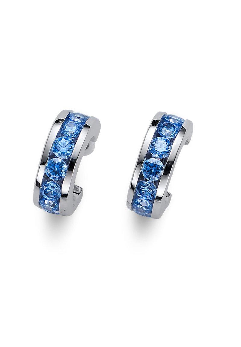 Oliver Weber - CIRCLE  - Earrings - blau