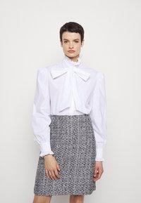 Alberta Ferretti - CAMICIA - Button-down blouse - white - 0
