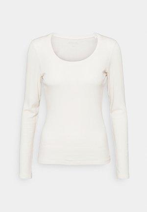SORANA  - Long sleeved top - soft cream