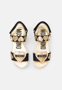 MOSCHINO - Sandals - black - 3