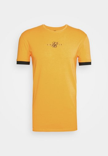 INSET CUFF GYM TEE - T-shirt - bas - yellow