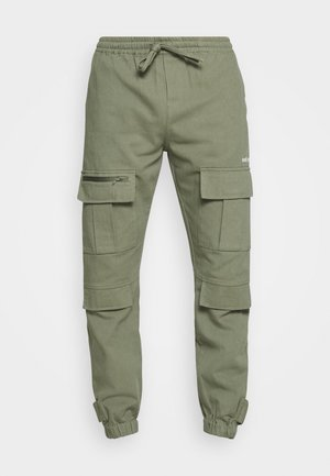 TROUSER HYDRO UNISEX - Cargo trousers - green