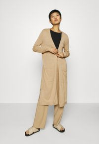 Esprit - LONG - Cardigan - beige - 0