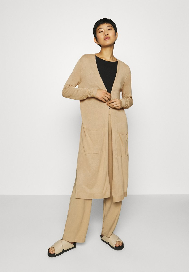 Esprit - LONG - Cardigan - beige