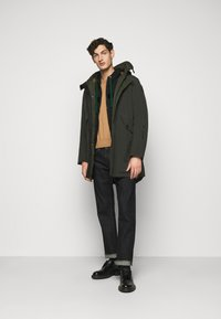 Blauer - APERTA CAPPUCCIO - Zip-up hoodie - black - 1