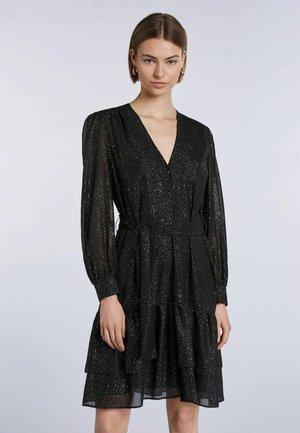 Cocktail dress / Party dress - black camel
