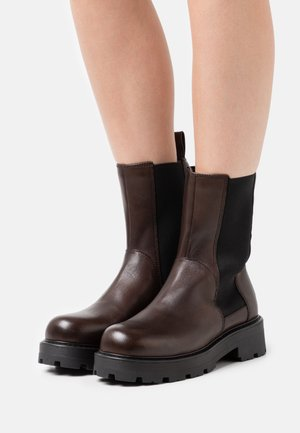COSMO - Platform ankle boots - brown